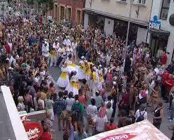 Karneval ve městě