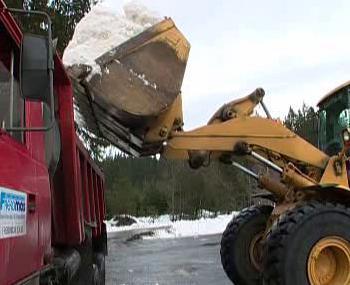 Nakládání sněhu