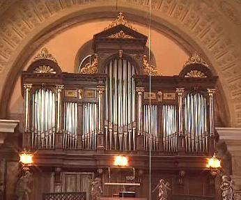 Vzácné štípské varhany