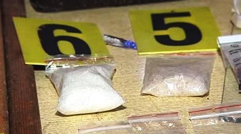 Zadržené drogy