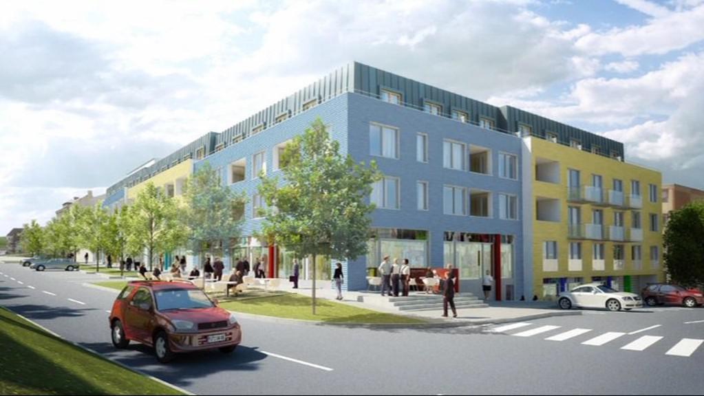 Projekt, který měl vyrůst v centru Rosic
