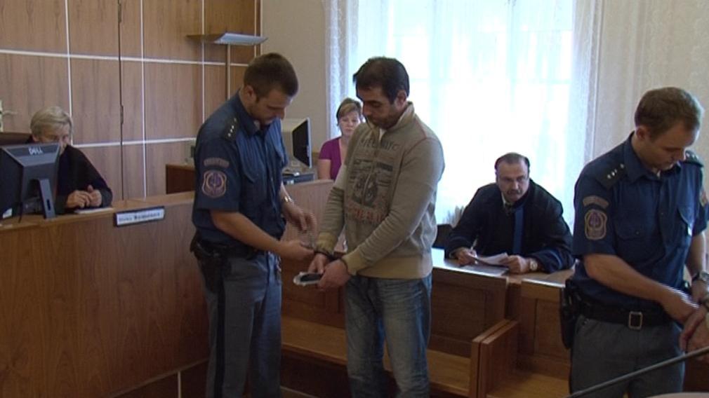 Ibrahim Hagidauti před soudem