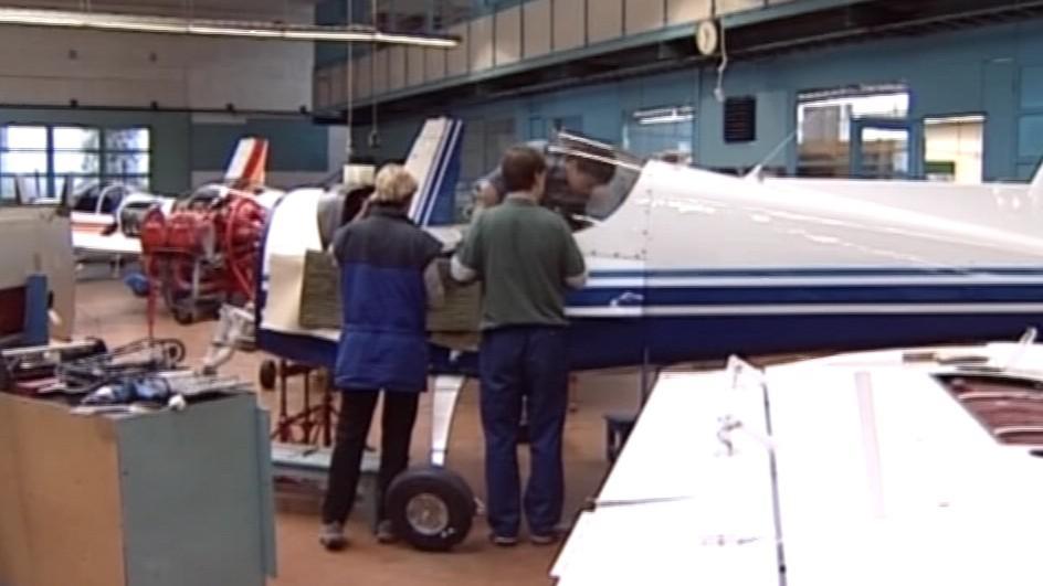 Výroba v Moravanu Aviation