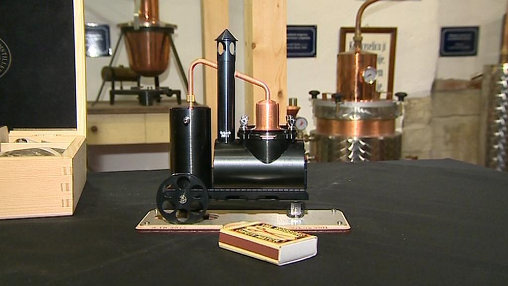 Nejmenší pálenice v muzeu slivovice