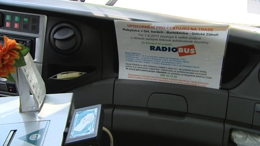 V radiobusu si připlatíte, o pět korun