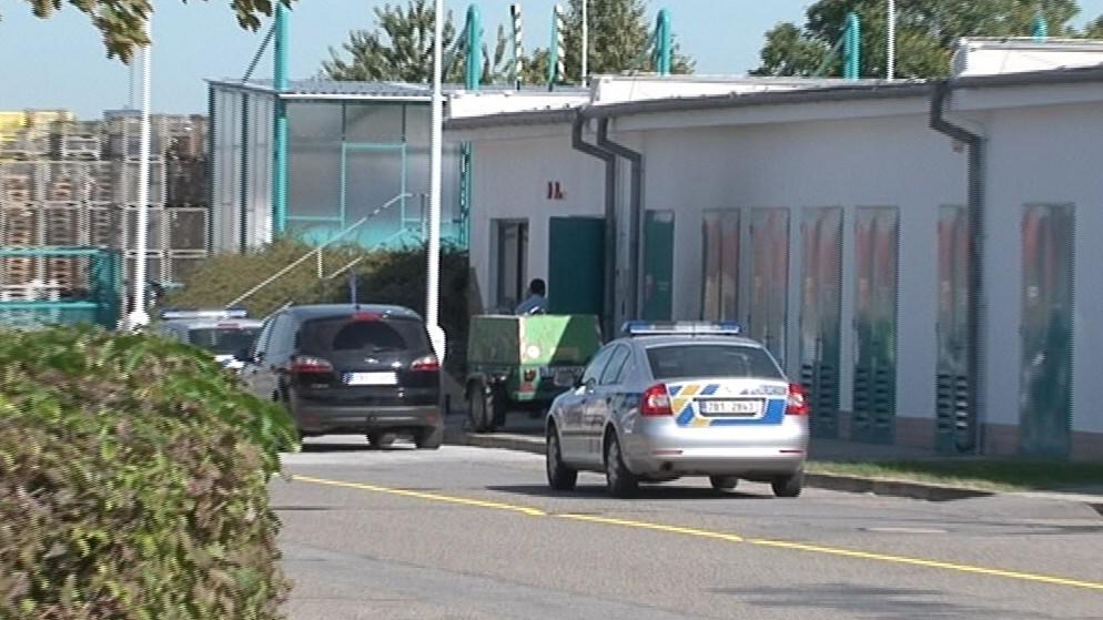 Budova v Moravanech u Brna, kde došlo k výbuchu hořlavých par