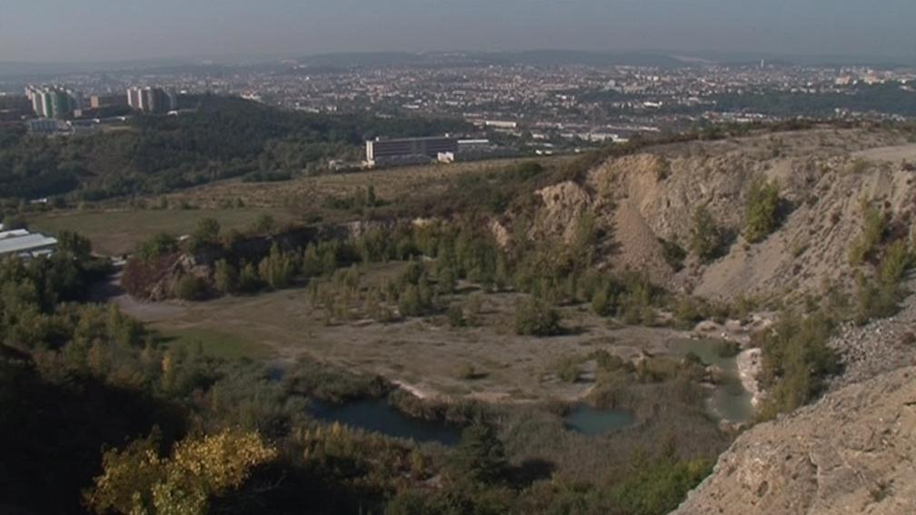 Pohled z vrchu Hády