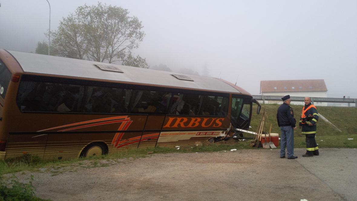 U Černé Hory havaroval autobus s polskými turisty