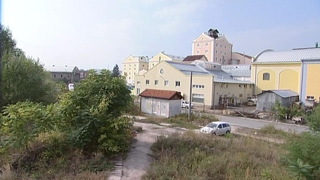 Nevyužitý pozemek v Břeclavi