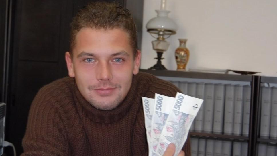 Podvodník David Pažout alias Dominik Marků