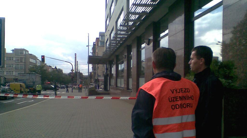 Přepadení banky ve Zlíně