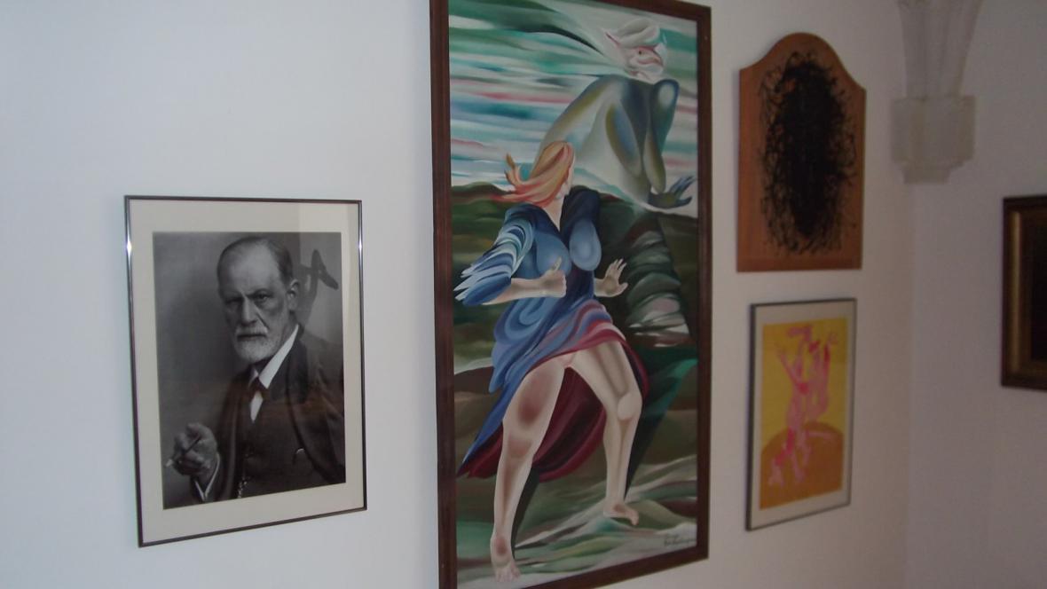 Zámek v Holešově patří Kafkovi a Freudovi
