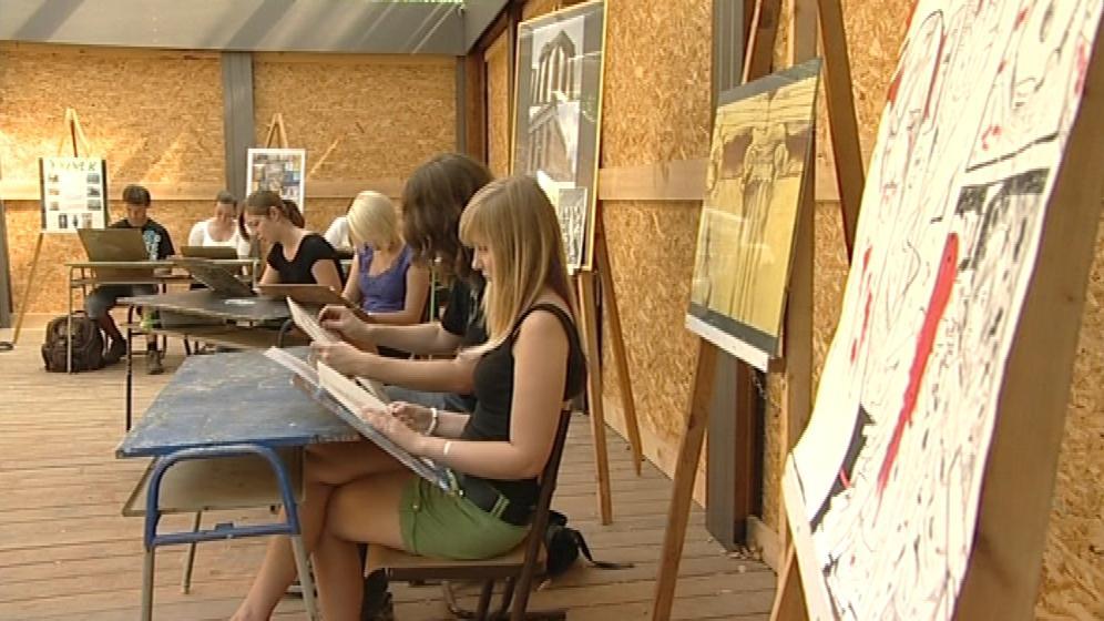Studenti si nový ateliér pochvalují