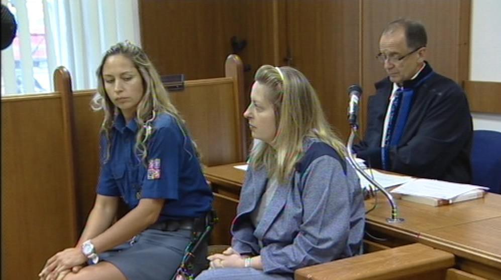 Dita Bouzková u soudu