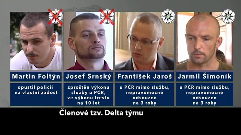 Někdejší členové Delta týmu