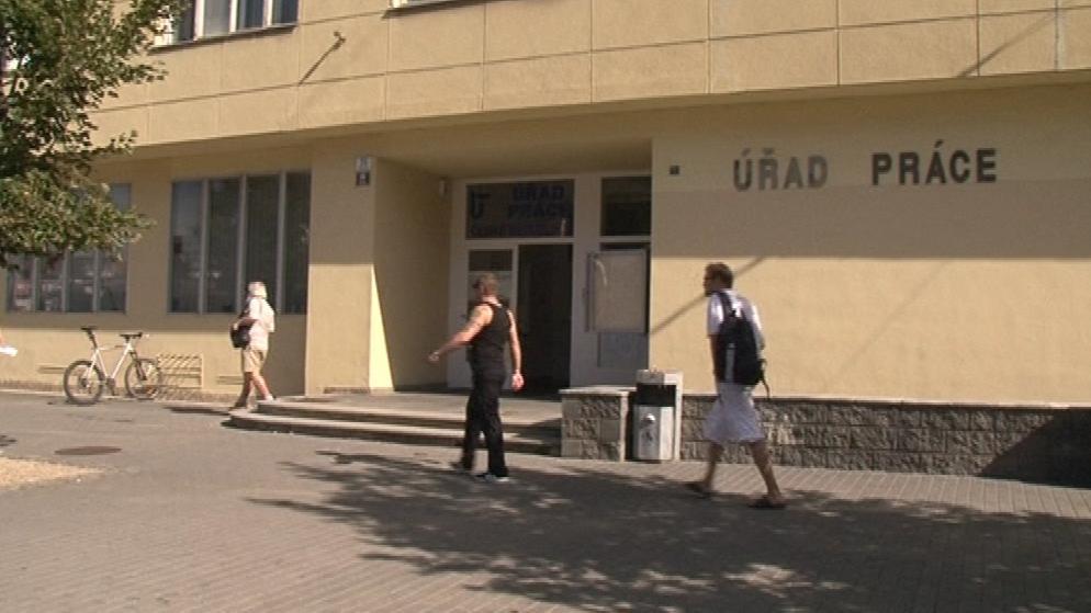 Úřad práce Brno-město na ulici Křenová