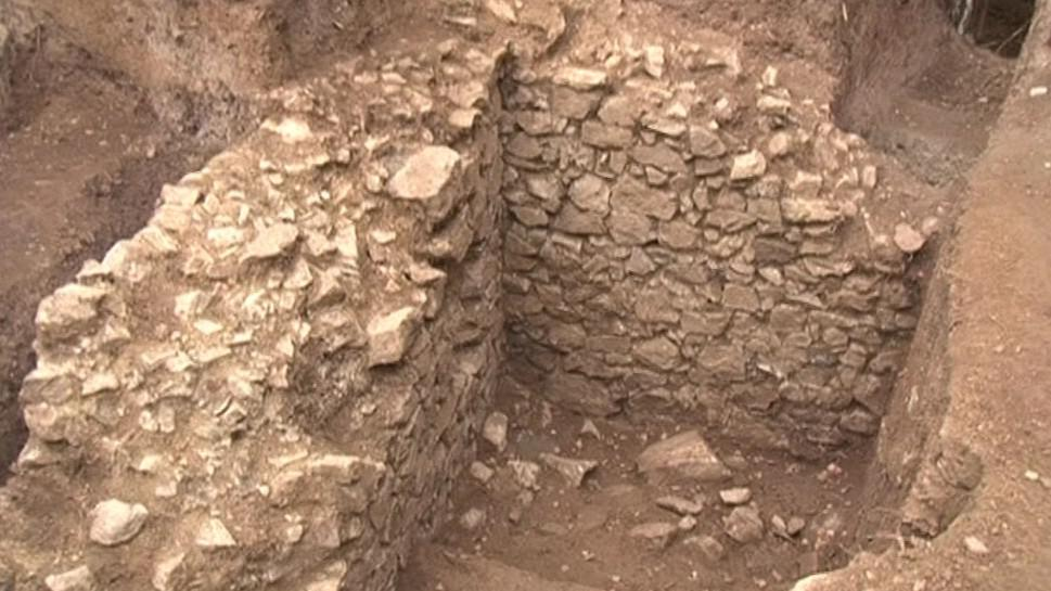 Torzo hradu Rumberku zkoumali archeologové