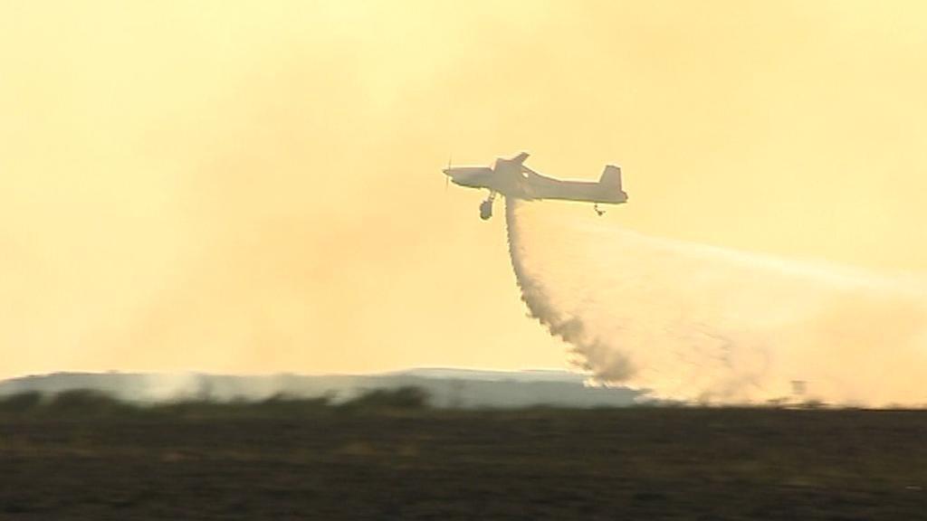 Hašení požáru ze vzduchu