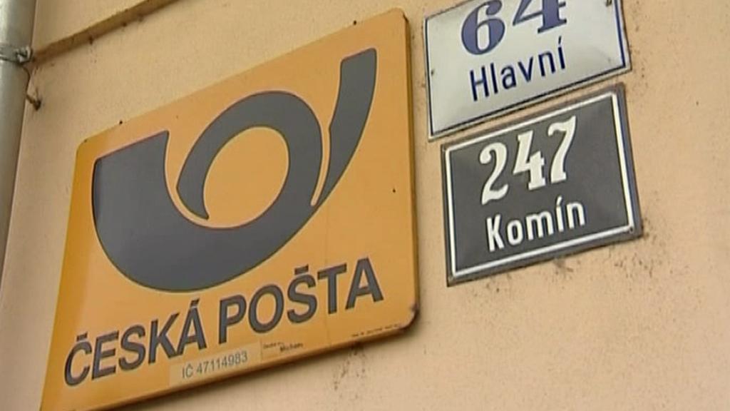 Pošta v Brně - Komíně