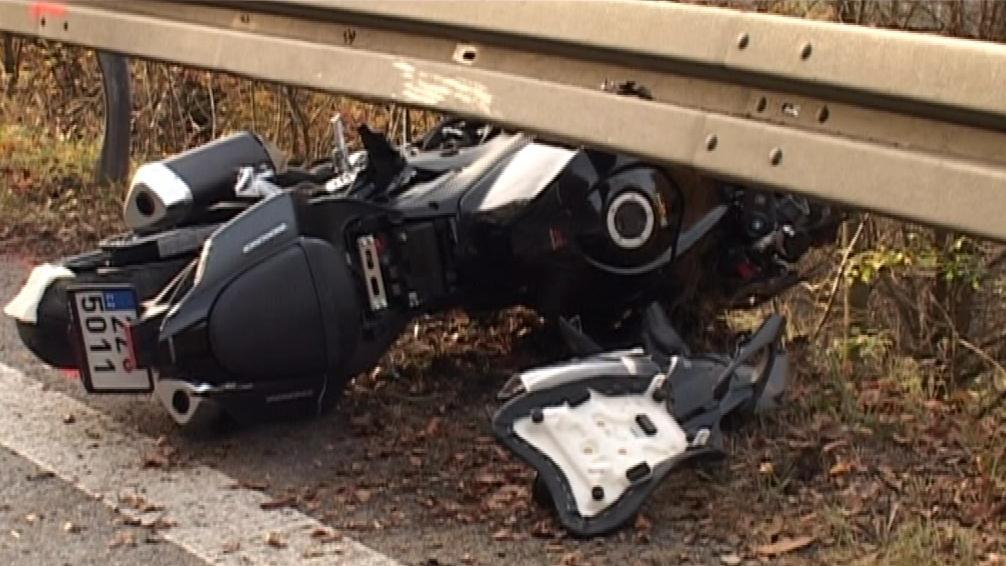Nehoda na motorce