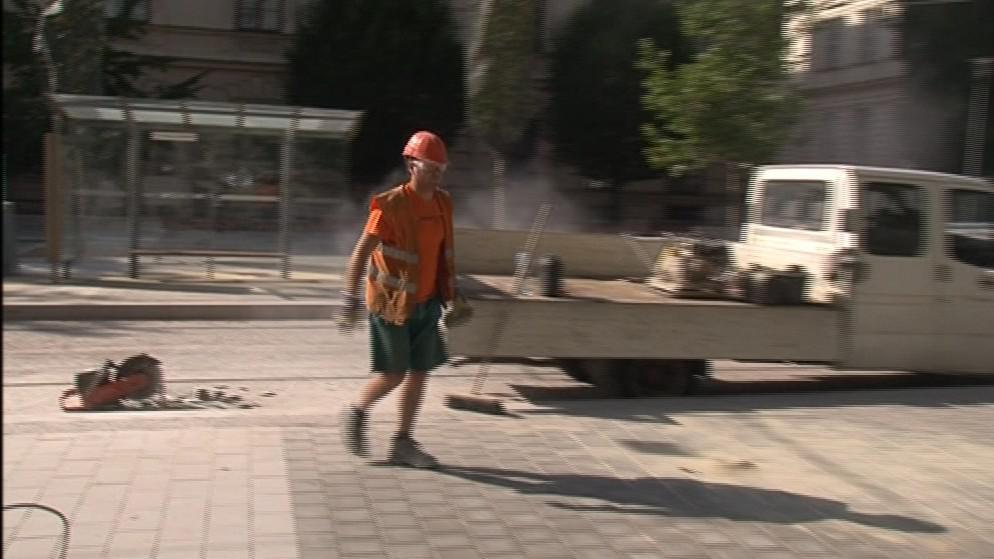 Rekonstrukce Joštovy ulice v centru Brna končí
