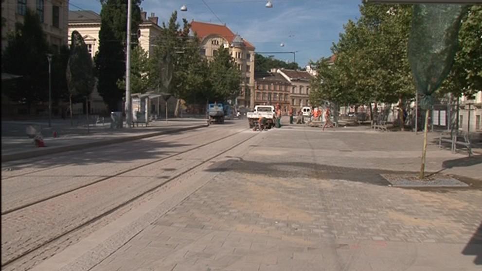 Komenského náměstí v Brně má novou tvář