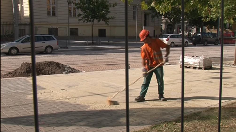 Rekonstrukce Komenského náměstí v Brně