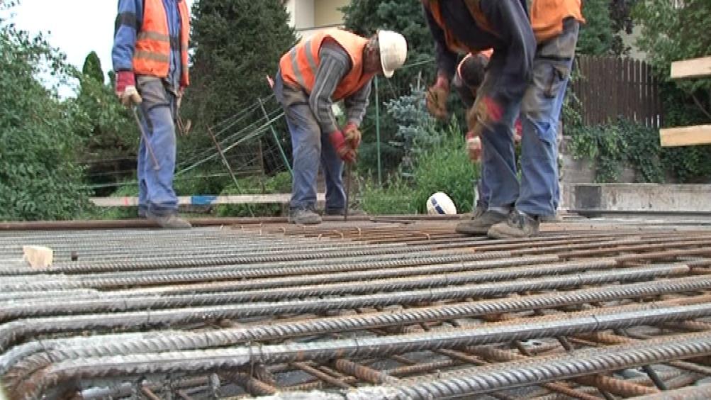 Rekonstrukce silnice v Ratíškovicích