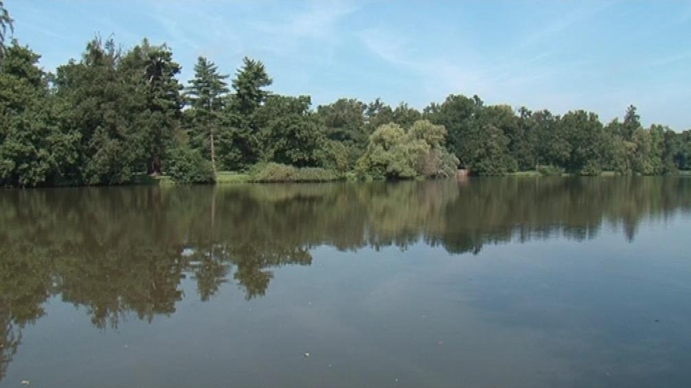 Zámecký rybník v Lednici