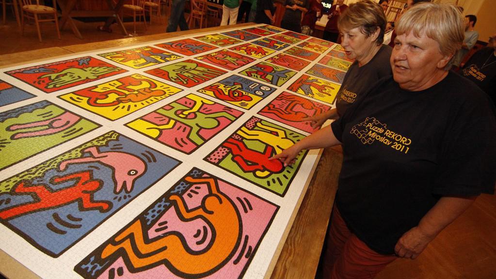 Světový rekord ve skládání puzzle