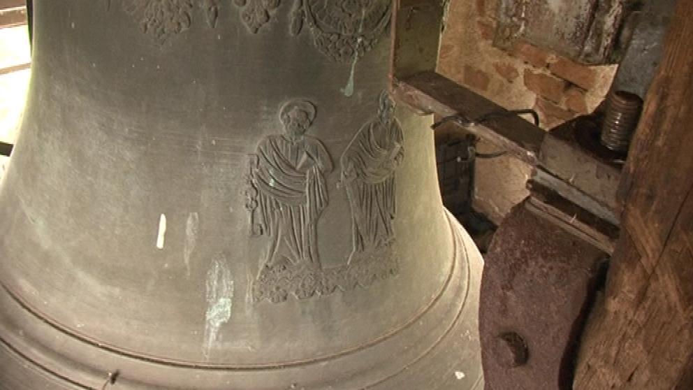Tři sta let starý zvon kostela v Horních Dubňanech