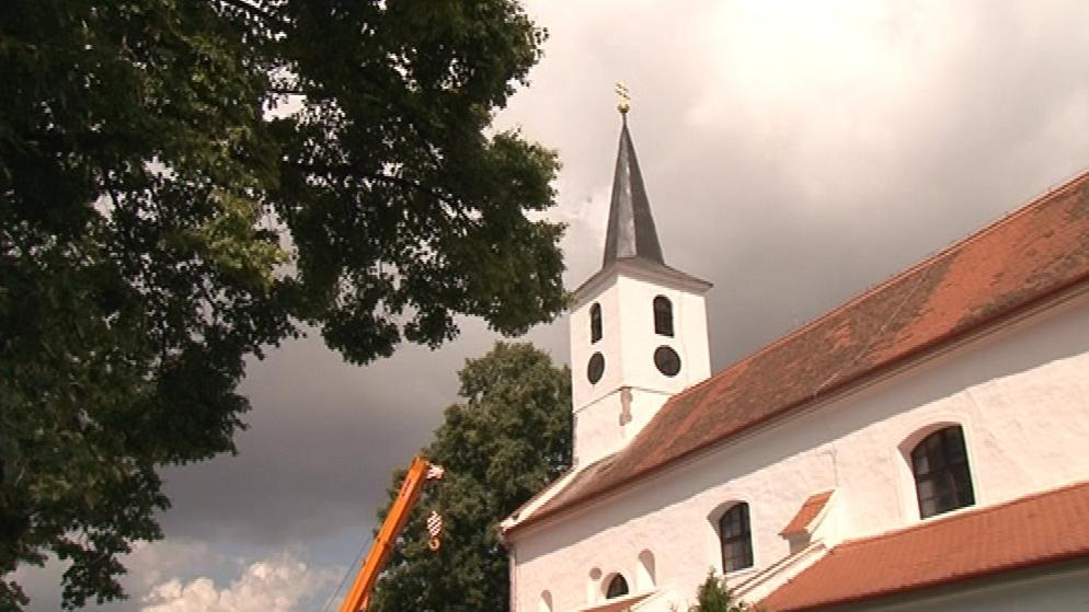 Kostel svatého Petra a Pavla v Horních Dubňanech