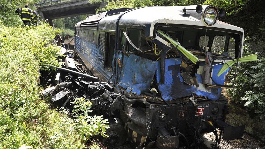 Nehoda lokomotivy