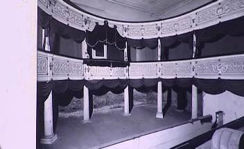 Původní divadlo na zámku Valtice