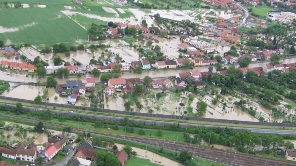 Povodně v Napajedlech