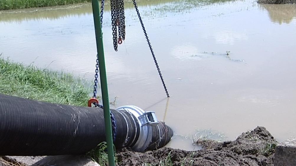 Odklízení následků povodní