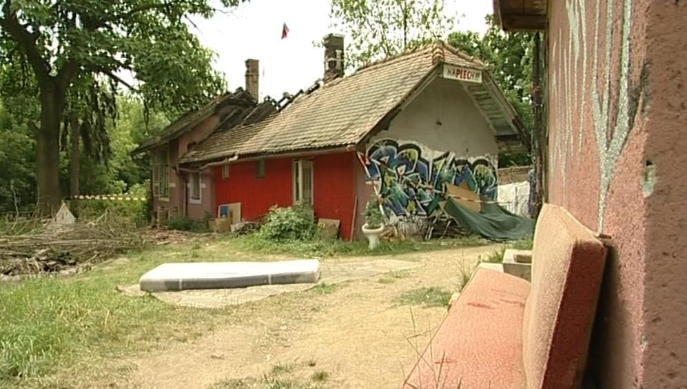 Squat v Moravském Krumlově