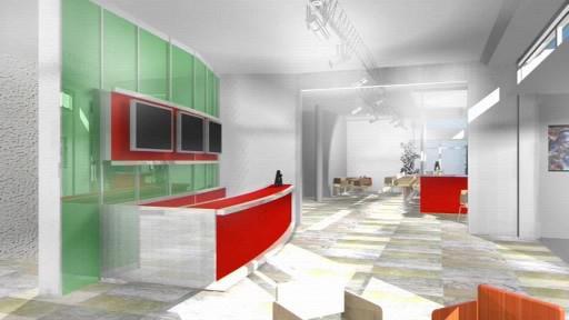 Nové interiéry kina Hvězda