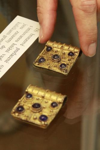 Šperky z dob Velké Moravy