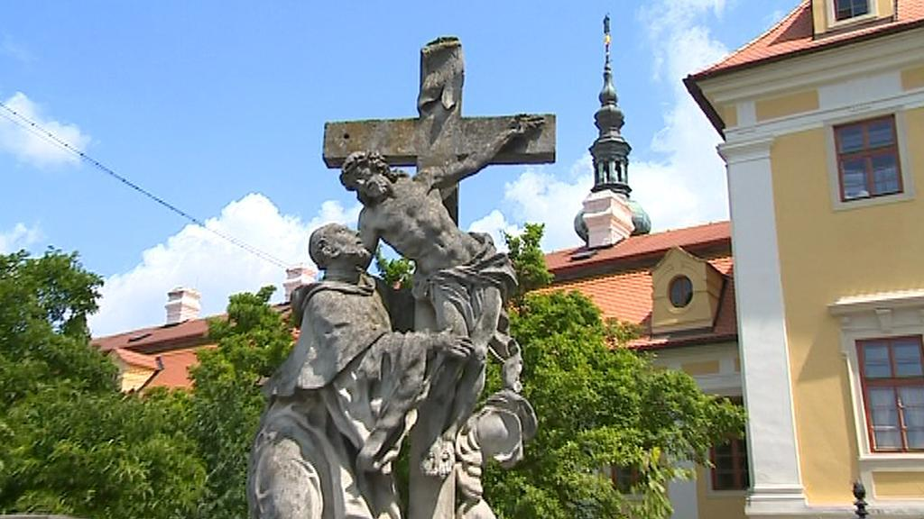 Socha sv. Bernarda