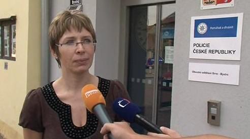 Vyšetřovatelka případu okradené školy v Žebětíně Hana Šinclová