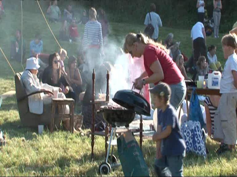 Na festivalu vládla sousedská atmosféra