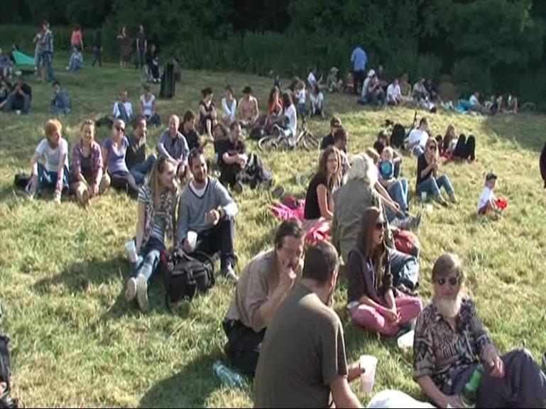 Sousedé z Kamenky na festivalu