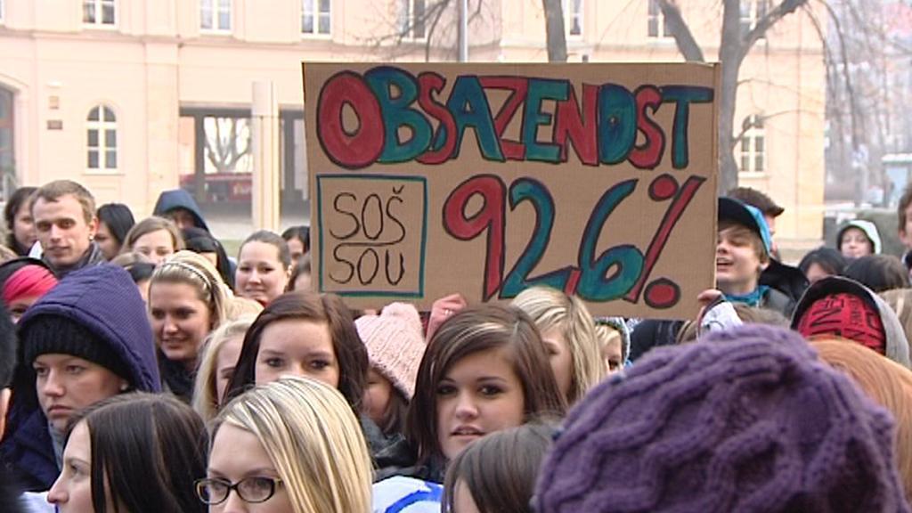 Protesty studentů