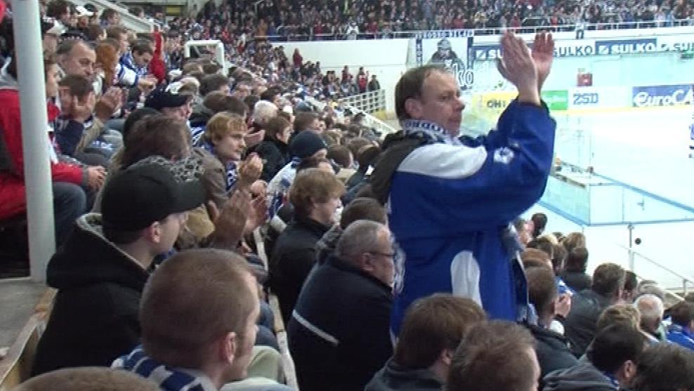 Fanoušci hokejového klubu Kometa