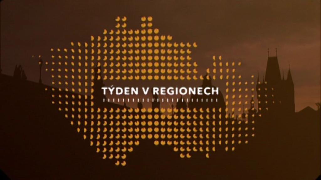 Pořad Týden v regionech (sobota, 12.05 na ČT1)