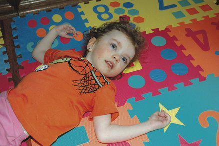 Eliška Marschavellová ve třech a půl letech