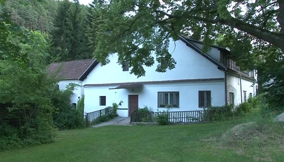 Jeden z mlýnů u Bobravy