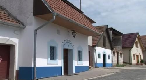 Vinné sklepy v Bořeticích