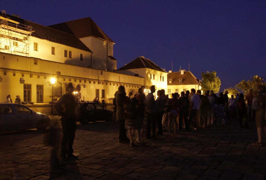 Zatmění na Špilberku sledovalo asi 100 lidí
